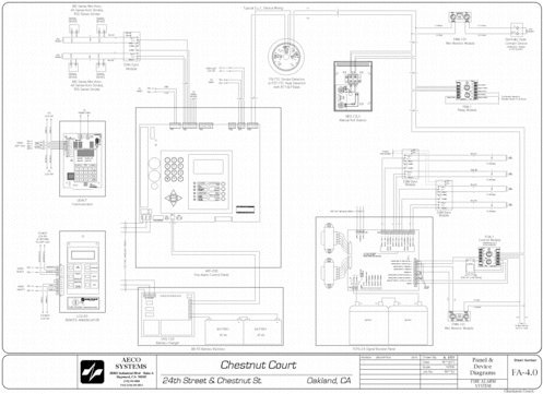 fire alarm riser diagrams samples